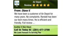 We have been a customer of Air Depot for many years. No complaints. Randall has been our...