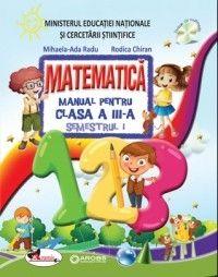 Matematica. Manual pentru clasa a III-a. Semestrul I+II (R. Chiran, M.A. Radu) -- Editura: Aramis Family Guy, Education, Worksheets, Character, Literacy Centers, Onderwijs, Learning, Lettering, Countertops