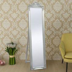 Motif Baroque, Baroque Pattern, Floor Standing Mirror, Floor Mirrors, Wall Mounted Makeup Mirror, Wood Mirror, Dressing Mirror, Dressing Room, Overmantle Mirror