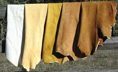 Leathers that have not been treated with chromium or other toxic metals