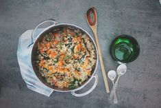 Paella, Risotto, Curry, Ethnic Recipes, Food, Spinach, Curries, Essen, Meals