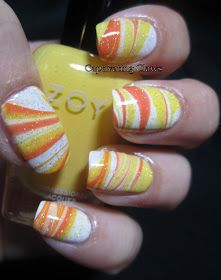 Captivating Claws: Weekly Water Marble 10/30/12