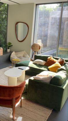 Dream Home Design, Home Interior Design, House Design, Apartment Interior, Living Room Interior, Aesthetic Room Decor, Room Ideas Bedroom, Home And Deco, Dream Decor