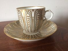 19th Century Cup And Saucer In Excellent Condition