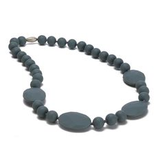 Chewable Teething Necklace for Mom to wear and that's safe for baby to chew - makes a fab #babygift! #PNshop