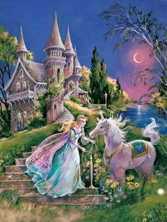 The Magical Unicorn Princess Jigsaw Puzzle