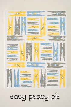 Creative and Practical Uses for Clothespin {Crafts & Decor}make art print