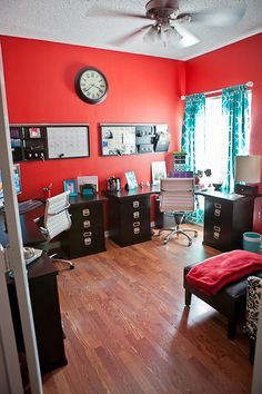 red black home office. the home of kate and andy spade u2014 habitually chic dream rooms apartment therapy red black office h