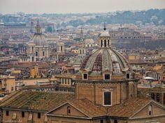 View from Altare della Patria, Rome