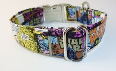 Star Wars Adjustable Dog Collar by CollarsByKylie on Etsy