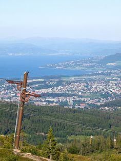 Trondheim from Skistua, Bymarka. Photo: Etienne Riviere