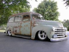 Phat And Rat Rodded Chevrolet Delivery Truck
