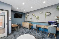 Catch up on work in our tech-savvy business center or grab a cup of coffee and relax in the lounge. #ReNewBraelinn #IAmRenewed #GA #Apartments #Amenities Pet Friendly Apartments, Peachtree City, Business Centre, Floor Plans, Relax, Lounge, Tech, Flooring, Coffee