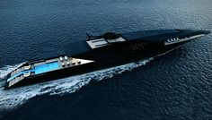 Tour The Black Swan, the World's Most Elegant Superyacht