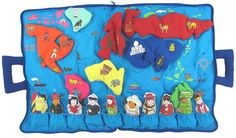 My World Map Travel Bag Toy