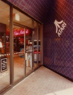 This is the original arcade in Crestwood Mall. Atari Adventures. It was the flagship arcade and first Atari Adventures built in the country.It included not only access to the latest Atari arcade games but a computing center as well that showcased Atari's computer line.