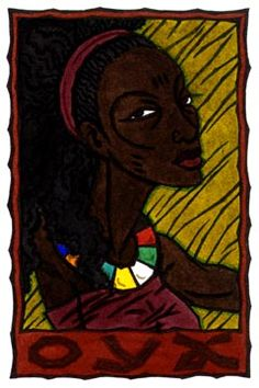 The Yoruba orisha of winds and tempests, Oya is a fierce warrior and protectress of women. Oya Goddess, Goddess Art, Mother Goddess, Azores Portugal, Orishas Yoruba, Tarot, Divine Feminine, Feminine Energy, Book Of Shadows