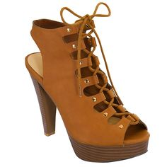 Women's Strappy Wedge Platform High Heel Ankle Lace Up Sandal ** Awesome product. Click the image : Lace up sandals