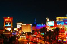 The #Vegas strip