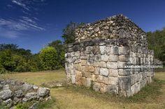 Ruines de Ek Balam dans le Yucatán au Mexique