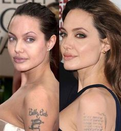 Angelina Jolie Plastic Surgery Nose job and Lip reduction