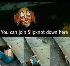 My ass is going down there. Corey Taylor, Stupid Memes, Funny Memes, Funny Shit, Funny Stuff, Jokes, Emo Bands, Music Bands, Rock Y Metal