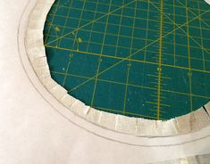 Inset Circles 4- how to frame the somerset star quilt block