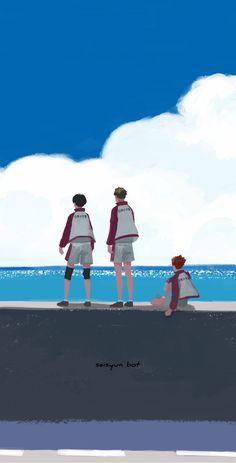 Haikyuu Fanart, Haikyuu Anime, Haikyuu Nishinoya, I Love Anime, Anime Guys, Manga Anime, Anime Art, Haikyuu Wallpaper, Backgrounds