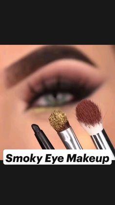 Dark Eye Makeup, Smoky Eye Makeup, Natural Eye Makeup, Makeup Looks Tutorial, Eyeliner Tutorial, Eye Tutorial, Eyeliner Looks, Eyeshadow Looks, Makeup 101