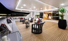 main deck M/Y Prima 2011