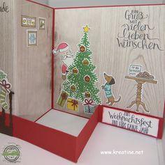 KreaTine - Kreativität, die ansteckt: Weihnachtsgrüße