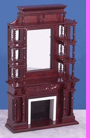 #1 ~ Parlor Room - Mahogany Fireplace