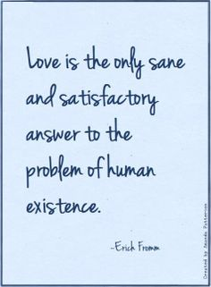 Erich Fromm. The art of loving