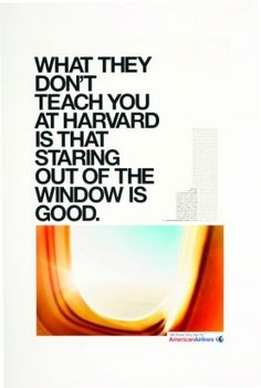 American Airlines: Harvard | Ads of the World™