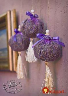 Nemusíte ju viazať len do kytičiek, toto je ešte lepšie: Úžasné nápady,. Lavender Wands, Lavender Crafts, Lavender Decor, Lavender Cottage, Lavender Sachets, Lavender Scent, Lavender Fields, Lavender Flowers, Dried Flowers