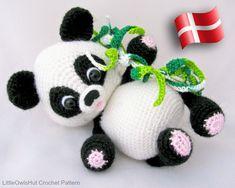 Sewing Animals Patterns 119 Crochet Pattern - Panda - Amigurumi PDF file by Pertseva Etsy - Crochet Panda, Crochet Amigurumi, Amigurumi Toys, Amigurumi Patterns, Crochet Animals, Crochet Toys, Crochet Patterns, Knitting Patterns, Free Crochet