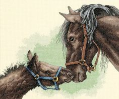 Horse Cross Stitch And Needlework Patterns.    /Nice EL./