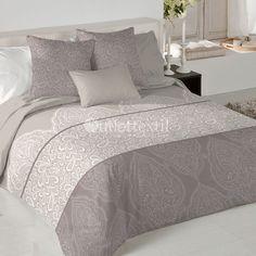 Funda Nórdica KALISTA de la firma Fundeco. Bedroom, Furniture, Design, Home Decor, Dress, Duvet Covers, Quilts, Beds, Blue Prints