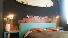 Slaapkamer met surf thema