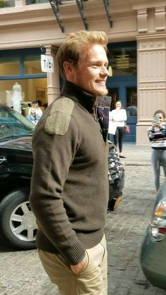 Image result for sam heughan barbour jumper