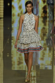 Just Cavalli RTW Spring 2015 [Photo by Giovanni Giannoni]