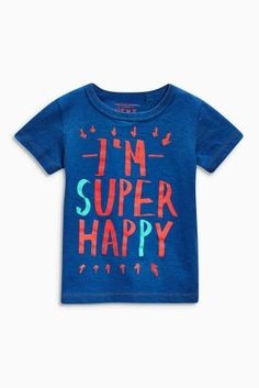 Buy Green Happy T-Shirts Two Pack (3mths-6yrs) online today at Next: Turkey