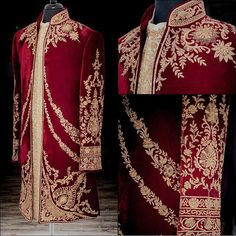 Wellgroomed Designs Inc ( Sherwani For Men Wedding, Wedding Dresses Men Indian, Mens Sherwani, Kurta Men, Wedding Dress Men, Wedding Men, Wedding Suits, Sherwani Groom, Punjabi Wedding