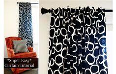 Tutorial: Super easy curtains in just 6 steps   Sewing   CraftGossip   Bloglovin