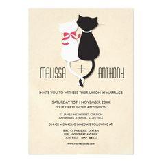 http://www.zazzle.com.au/modern_cute_cat_couple_monogram_wedding_invite-161989838396605026
