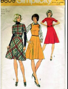 697752b755c 51 Best Mod dress Vintage Sewing Patterns 1960 s images