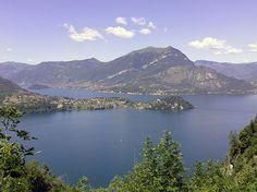Il Sentiero del Viandante: Lierna-Varenna è un'antica via commerciale tra Milano e la Svizzera, costeggia la sponda lecchese del Lago di Como.