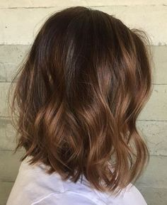 trendy hair color ideas for brunettes balayage haircuts short ombre Balayage Hair, Ombre Hair, Blonde Bayalage, Short Bayalage, Haircolor, Medium Hair Cuts, Cool Hair Color, Brunette Hair, Hair Day