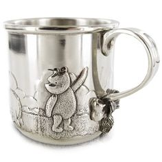 Royal Selangor Winnie The Pooh Baby Mug Winnie The Pooh Mug, Winnie The Pooh Nursery, Winne The Pooh, Winnie The Pooh Friends, Pooh Bear, Disney Winnie The Pooh, Disney Cups, Disney Souvenirs, Cute Cups
