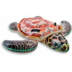 Intex Inflatable Swimming Pool Inflatable Realistic Turtle Inflatable Kids Toys #Intex